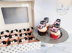 Minnie_Mini Cooper Cupcakes
