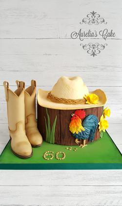 Cowboy cake_
