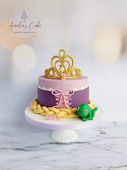 Tangled_Rapunzel Cake