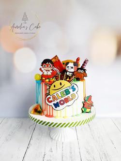 Ryan's World Drip Cake