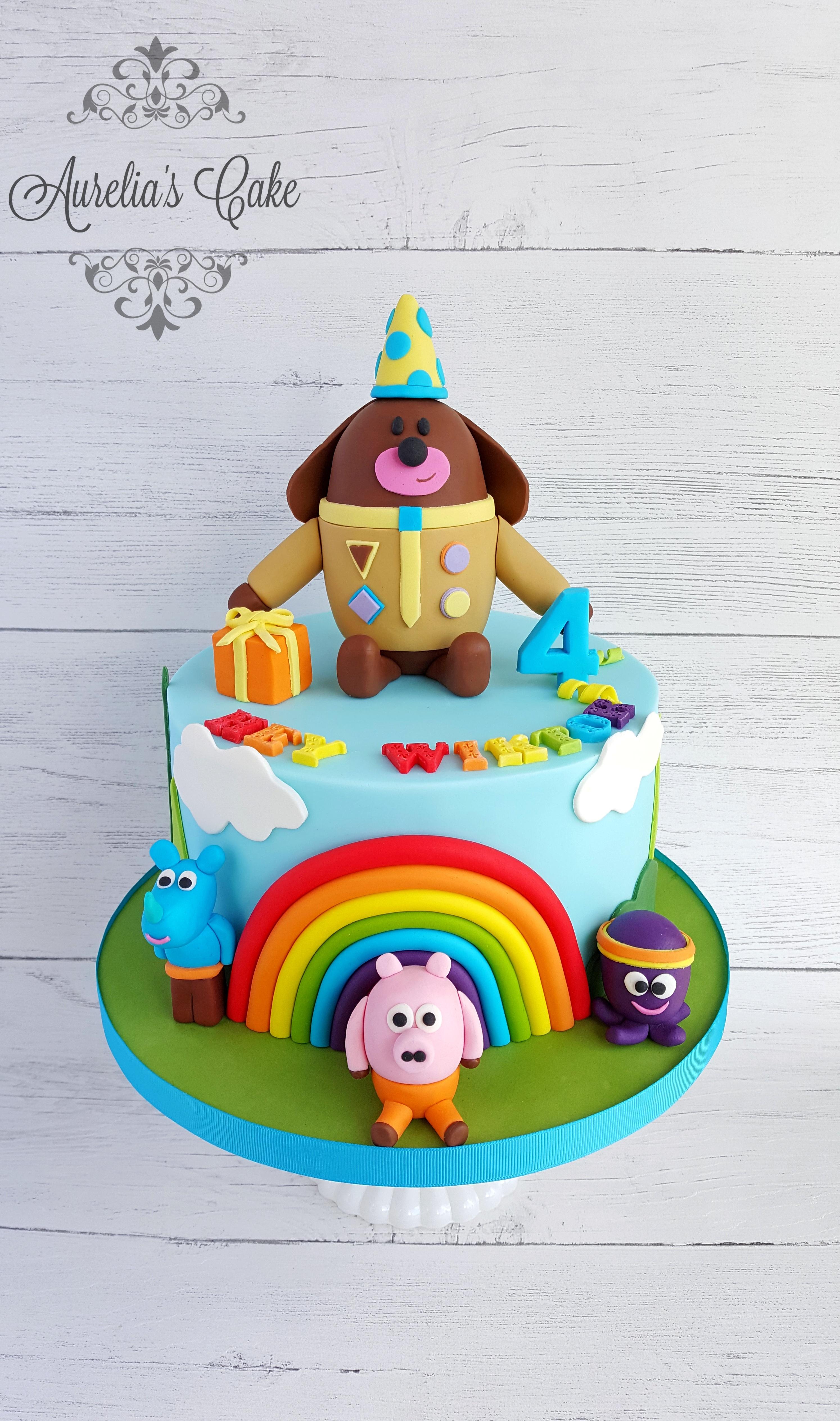Hey Duggee cake_