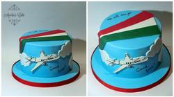 Goodbay cake.