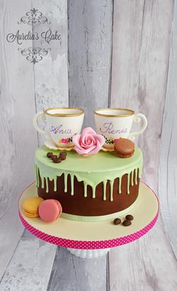 Coffee cups Cake