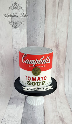 Campbells can tomatto soup cake