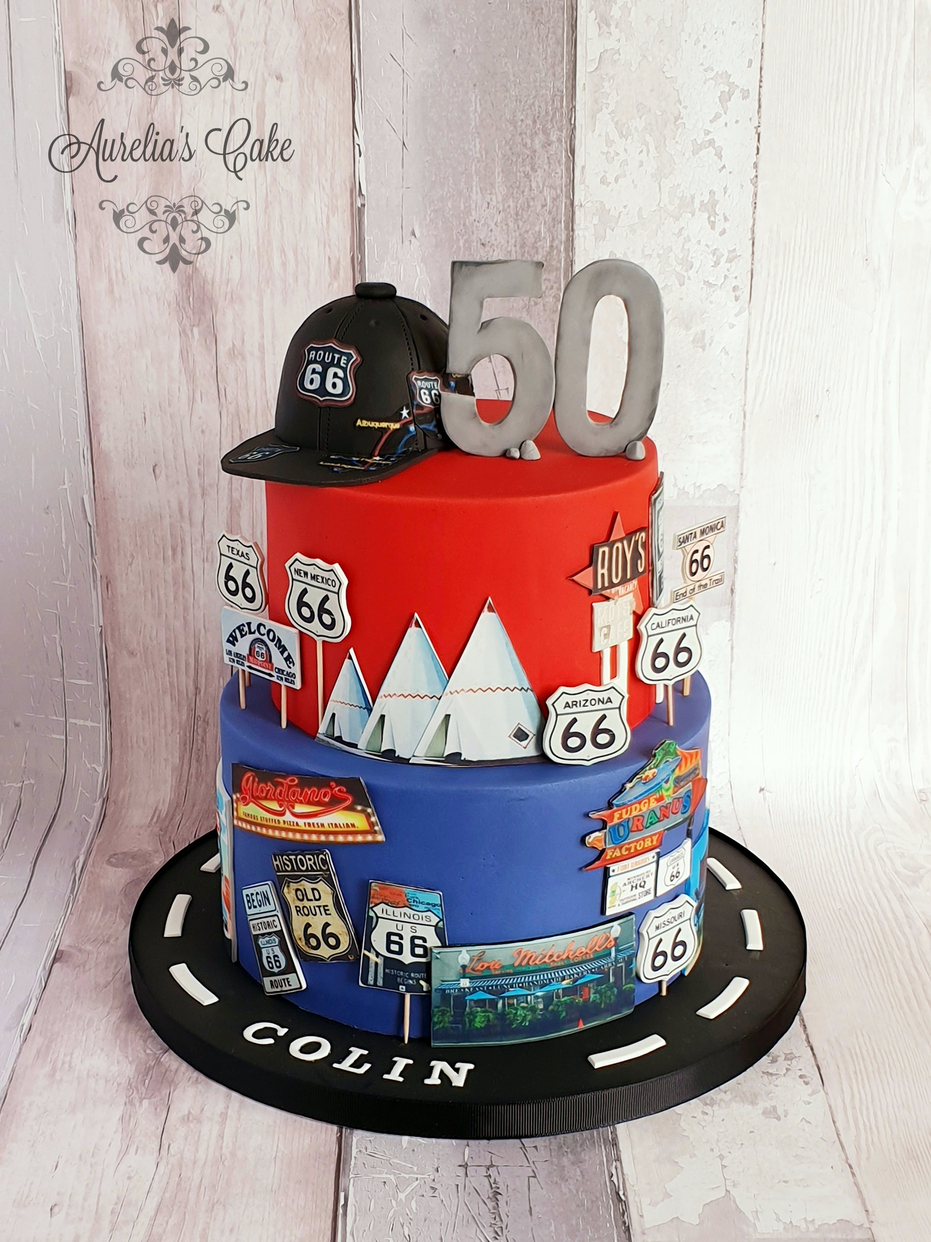 Cake route 66