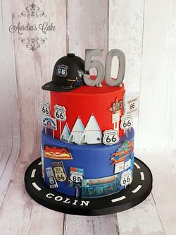 Cake route 66