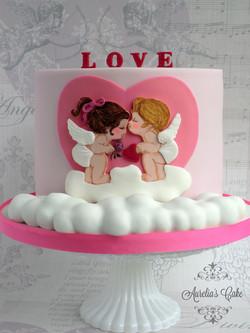 Valentines cake.