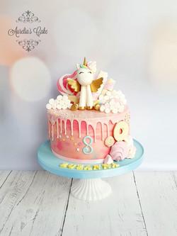Unicorn_drip cake