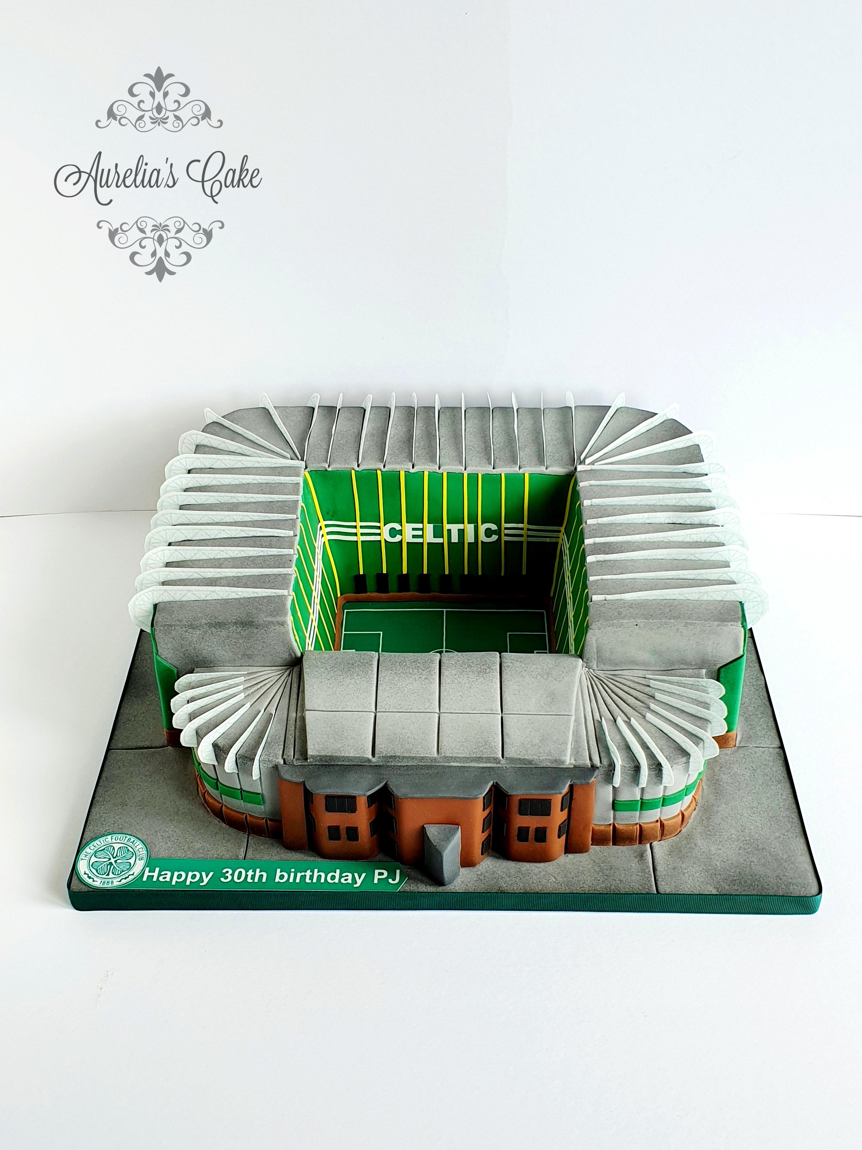Celtic Park cake