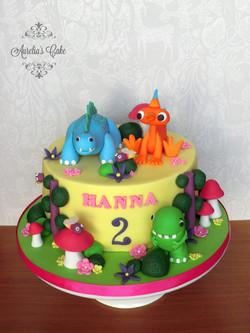 Dinopaws cake.