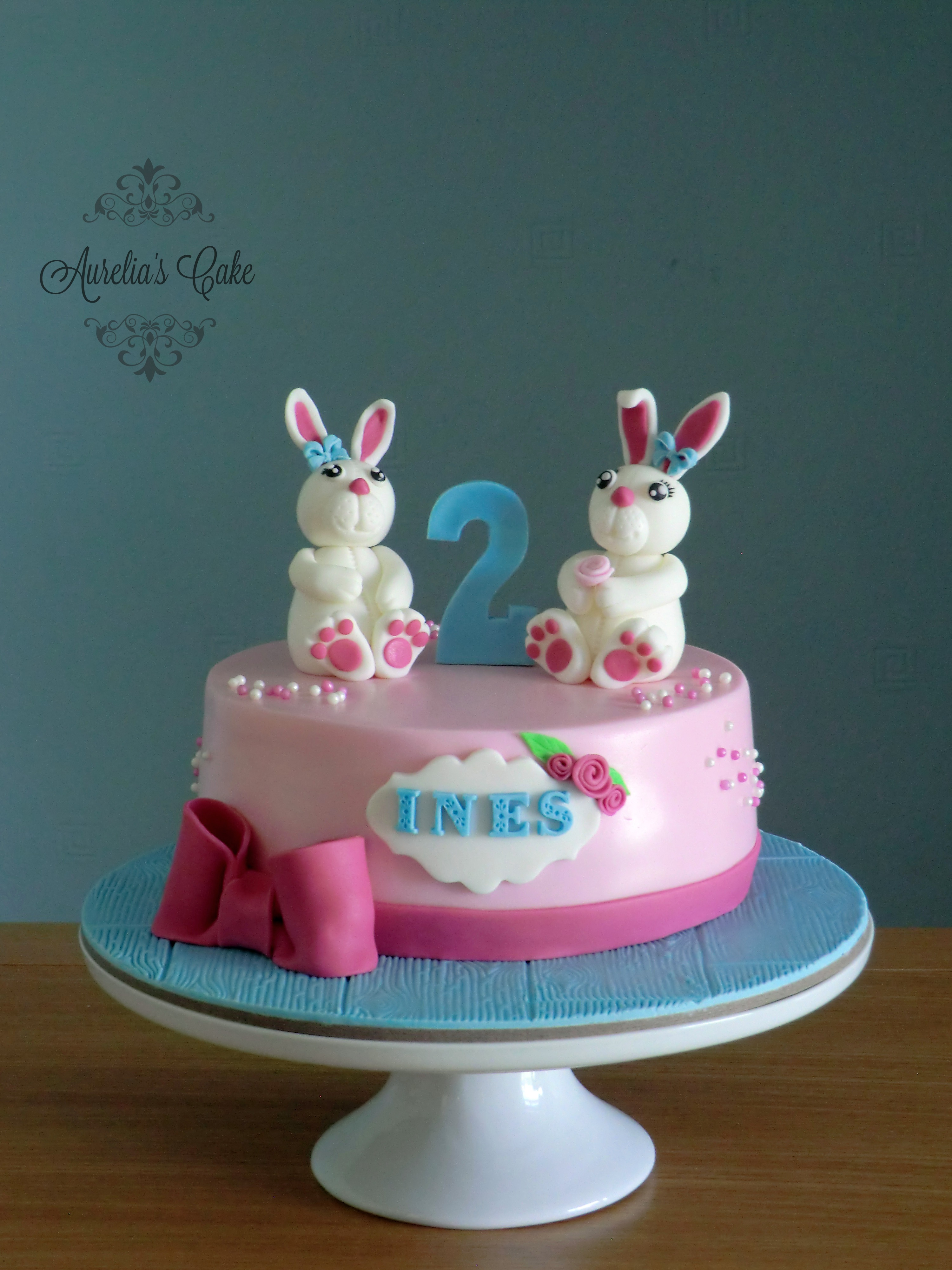 Bunny cake.
