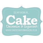 Cake Decoration & Sugarcraft badge