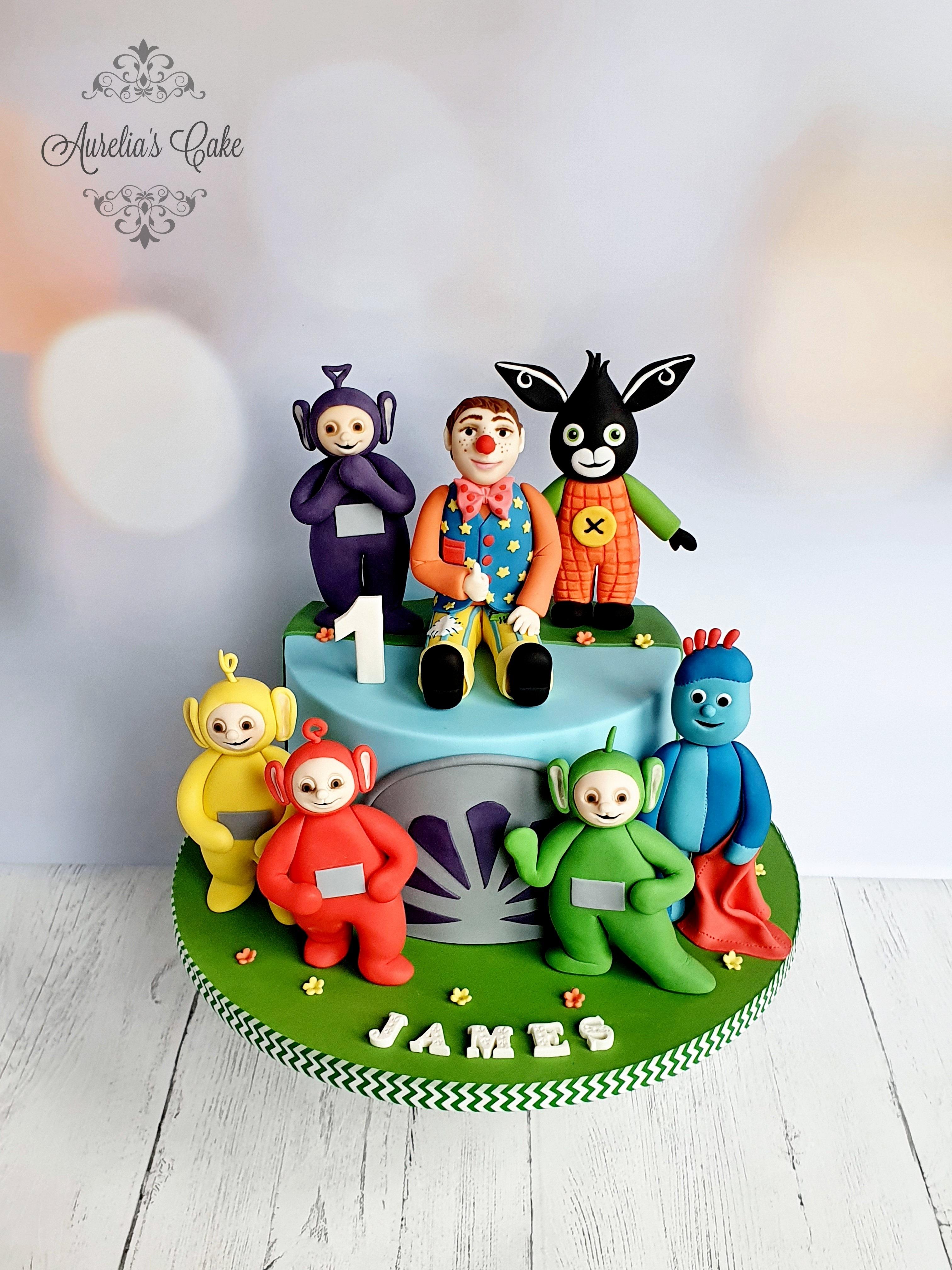 Cbeebies Themed Cake