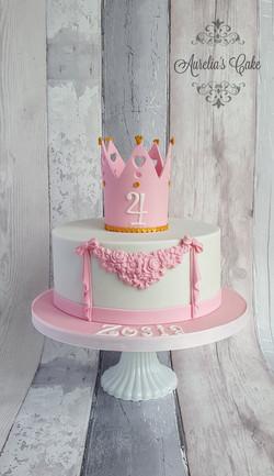 Crown cake_Prinncess cake
