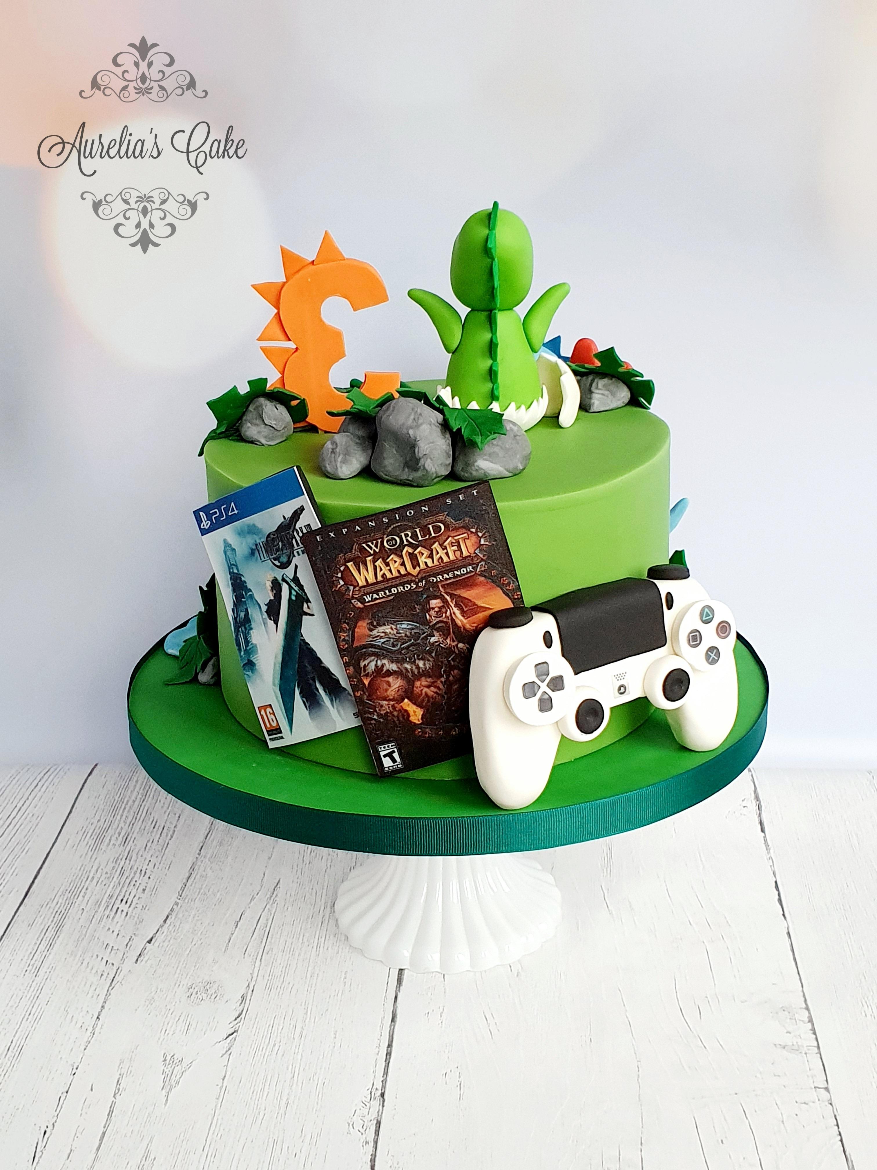 Xbox, PlayStation Cake
