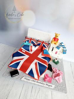 Teenage Girl Bedroom Cake