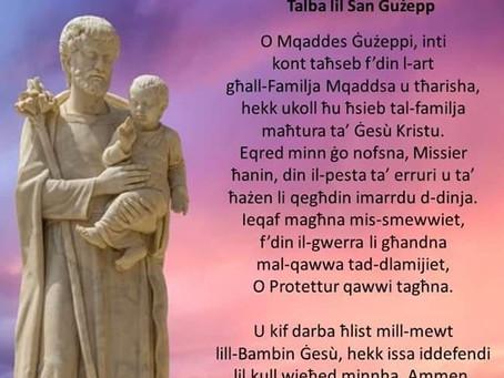 Il-Festa ta' San Ġużepp u Ħaż-Żabbar