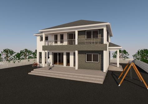 N58-1 일본스타일 목조주택