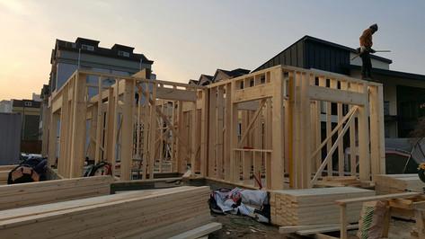 서천동 목조주택 목구조공사-1층