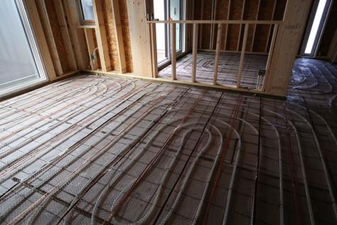 서천동 목조주택 내부 방통시공