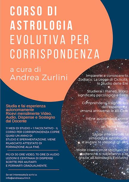 Corso di Astrologia Evolutiva per Corrispondenza