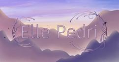 Elle Pedri Logo & Background
