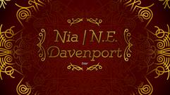 Nia   N.E. Davenport Logo & Background