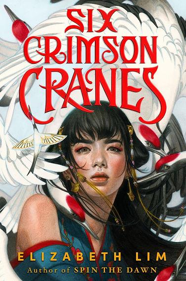 Six Crimson Cranes