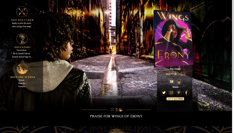 Wings of Ebony - Novel Site
