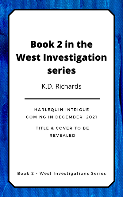 Book 2 in the West investigation Series