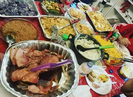 Filipino-American Thanksgiving (and ube pie!)