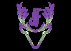 Jen Ferguson Sweetgrass Deer Logo