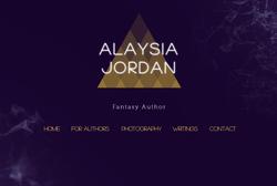 Author & Designer Alaysia Jordan