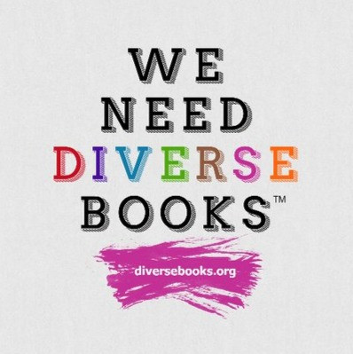 Text and logo: We need diverse books