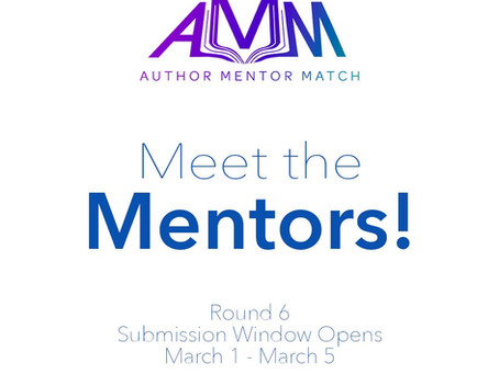 Author Mentor Match Round 6