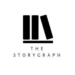 Three black books logo. Text: The Story Graph