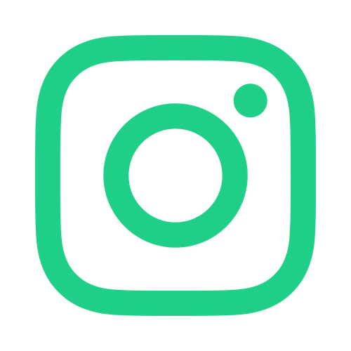Instagram green logo