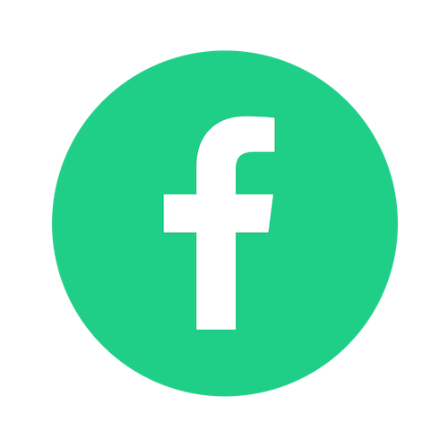 facebook green logo