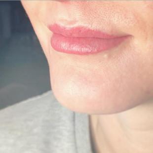 Look at that gorgeous lip blush 😍 #lipb