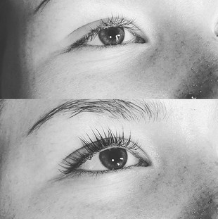 Lash lift + tint ❤️_Now available for pu