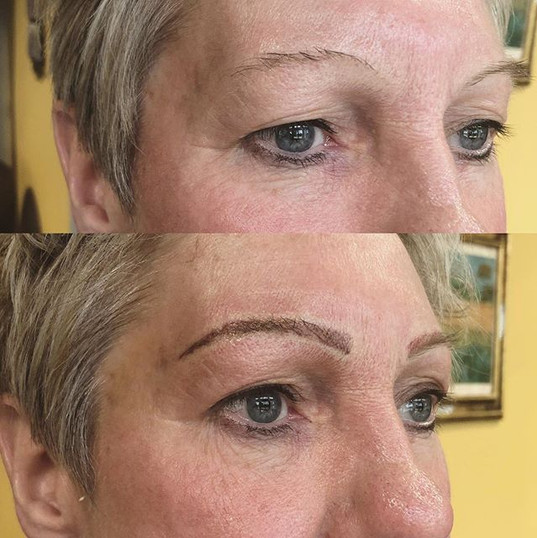 Today's Brow transformation _#waterproof