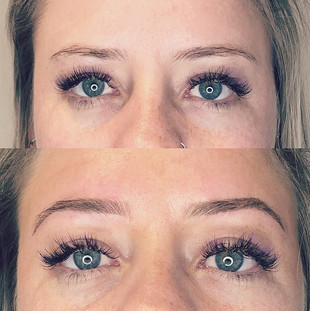 This babe got a lovely set of Combo Brow