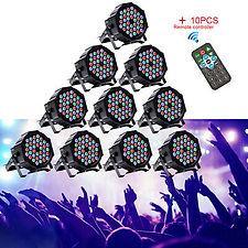 UKing-RGB-Bühnenlicht-10STK-72W-36-LEDs-