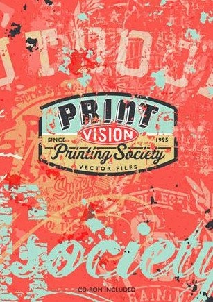 Print Vision include CD-ROM by Printing Society