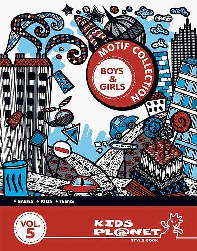 Kids Planet Motif Collections Boys & Girls Vol.5