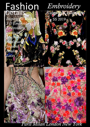 .Embroidery SS 2019
