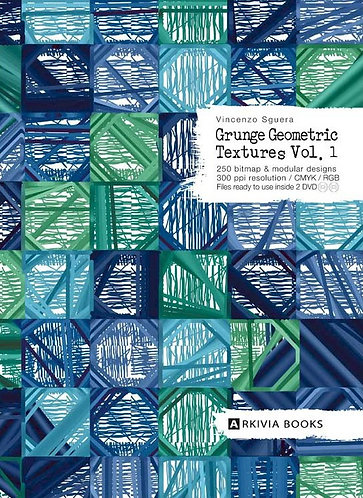Grunge Geometric Textures Vol. 1 vy Arkiva