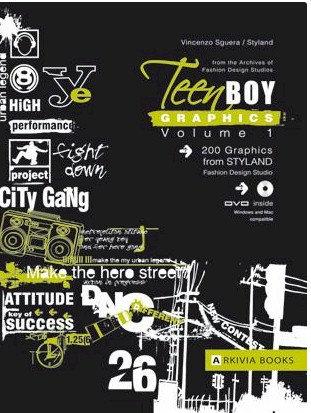 Teen Boy Graphics Vol. 1 incl. DVD by Arkiva