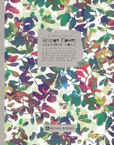 Grunge Flower Textures Vol.1 by Arkiva
