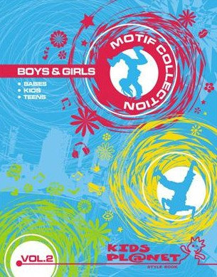 Kids Planet Motif Collections Boys & Girls Vol. 2 include DVD